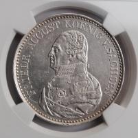 Саксония 1 талер 1826 г., NGC AU DETAILS, 'Король Фридрих Август I (1806 - 1827)'
