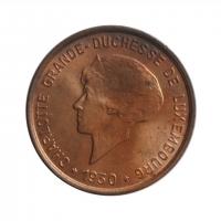 """Люксембург 5 сантимов 1930 г., BU, """"Великая герцогиня Шарлотта (1918 - 1964)"""""""