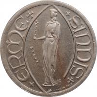 "Люксембург 40 франков 1963 г., BU ESSAI, ""Принцесса Эрмесинде"""