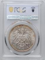 "Гамбург 5 марок 1913 г., PCGS MS63, ""Вольный город Гамбург (1871 - 1918)"""