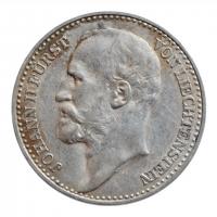 "Лихтенштейн 1 крона 1904 г., XF, ""Князь Иоганн II (1858 - 1929)"""