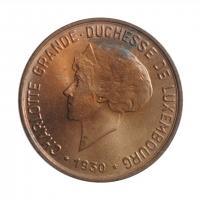 """Люксембург 10 сантимов 1930 г., BU, """"Великая герцогиня Шарлотта (1918 - 1964)"""""""