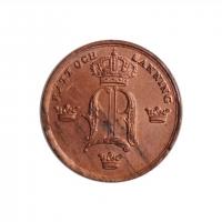 """Швеция 1/6 скиллинга 1847 г., BU, """"Король Оскар І (1844 - 1859)"""""""