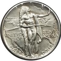 США 50 центов 1926 г., UNC, 'Мемориал Орегонская Тропа'
