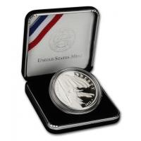 "США 1 доллар 2012 г., PROOF, ""200 лет гимну США"""