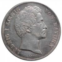 Бавария 2 талера 1839 г., 'Максимилиан I - Курфюрст Баварии'