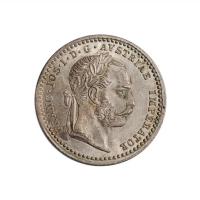 """Австрия 10 крейцеров 1868 г., UNC, """"Император Франц Иосиф I (1848 - 1916)"""""""