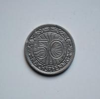Германия 50 пфеннигов 1927 г. G, РЕДКАЯ