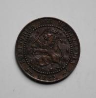 Нидерланды 1 цент 1883 г., РЕДКОЕ СОСТОЯНИЕ