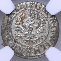 "Бранденбург 1 солидус 1627 г., NGC MS62, ""Курфюрст Георг Вильгельм (1619 - 1640)"""