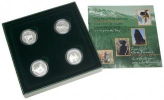 Канада набор 50 центов 1997 г., PROOF, 'Лучшие друзья Канады'