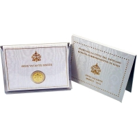 Ватикан 2 евро 2013 г., BU, 'Вакантный престол'