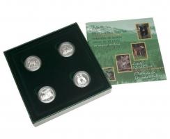 Канада набор 50 центов 1996 г., PROOF, 'Детёныши диких животных'
