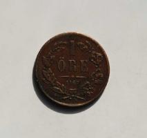Швеция 1 эре 1867 г.