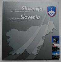 Словения банковский набор 5 толаров 12 шт. UNC